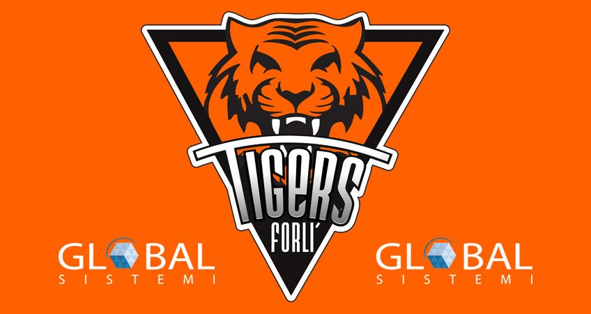 Global Sistemi main sponsor Tigers Forlì
