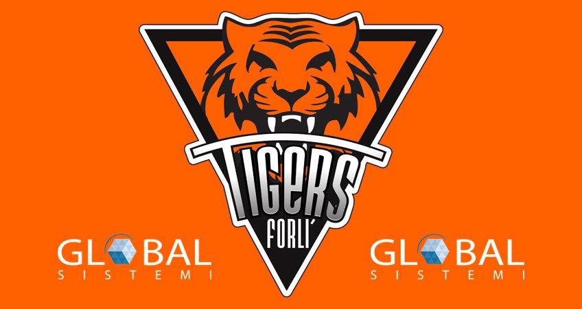 Global Sistemi main sponsor Tigers Forlì