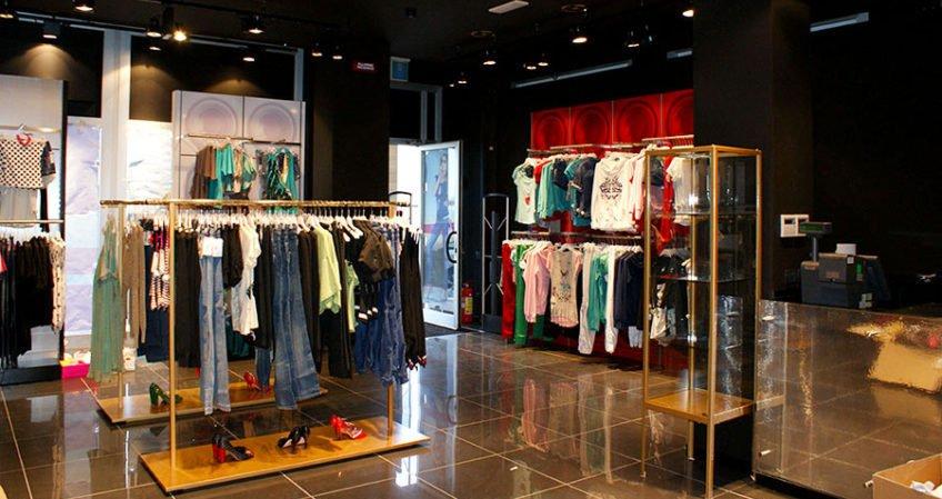 Impianto elettrico e illuminazione - Boutique Fornarina