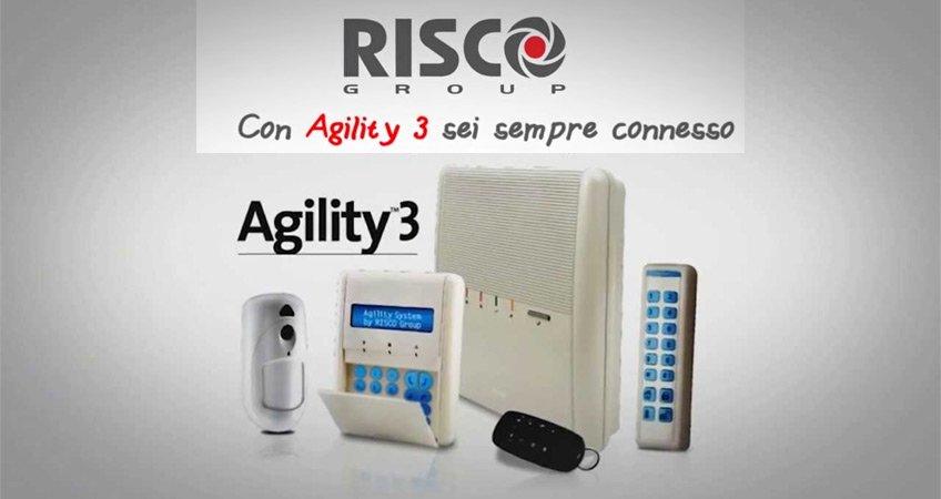 Sistema Radio Bidirezionale Agility Risco