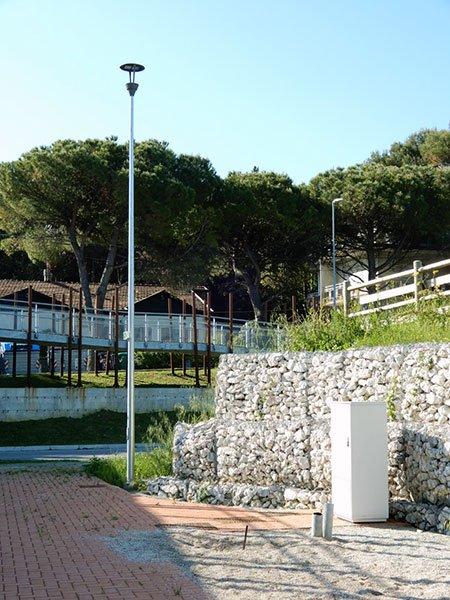 Illuminazione pubblica Anfiteatro Riccione