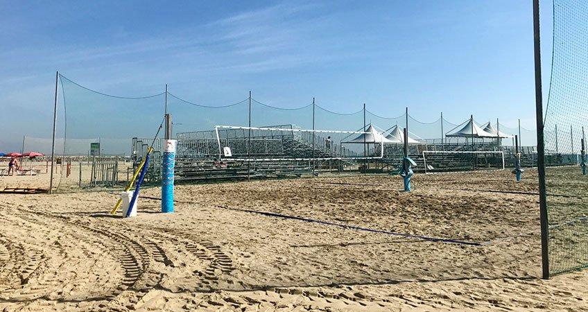 Impianto Elettrico Beach Tennis World Championships Cervia