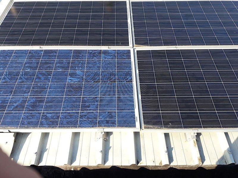 Manutenzione e pulizia Impianto Fotovoltaico Herrnbrau Italia