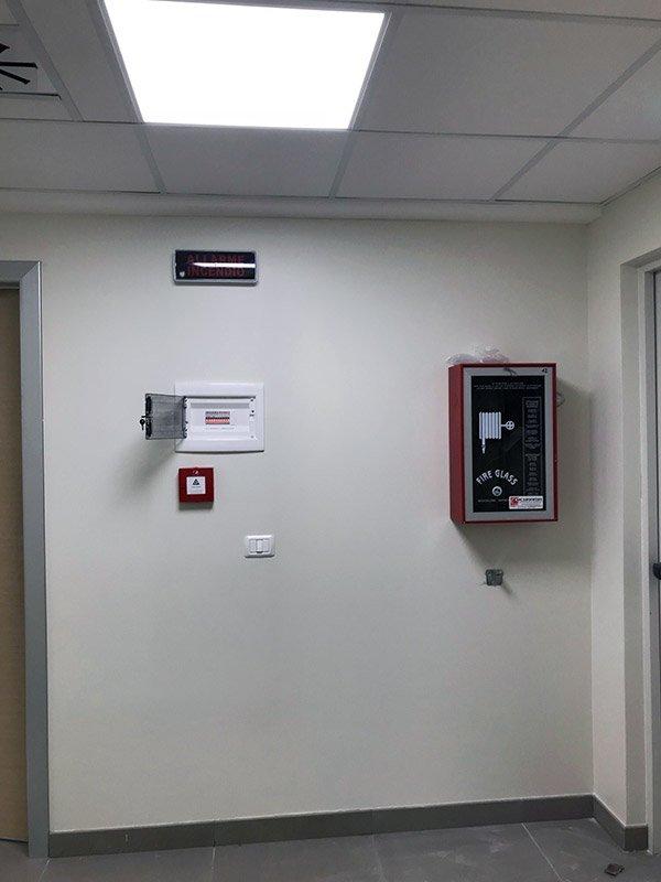 Impianti elettrici, illuminazione, cablaggi - Ospedale Santa Sofia