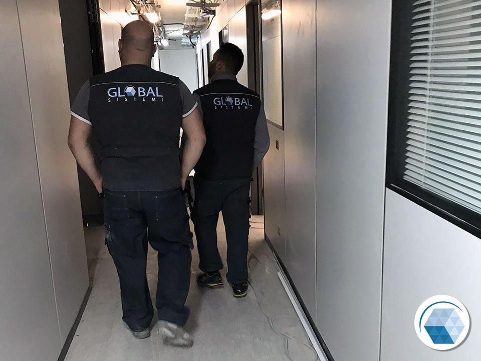 Impianti Elettrici nuovi uffici a Mestre