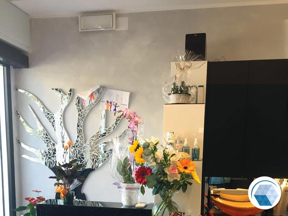 Impianto elettrico e illuminazione - Parrucchieri Valentina e Valerio