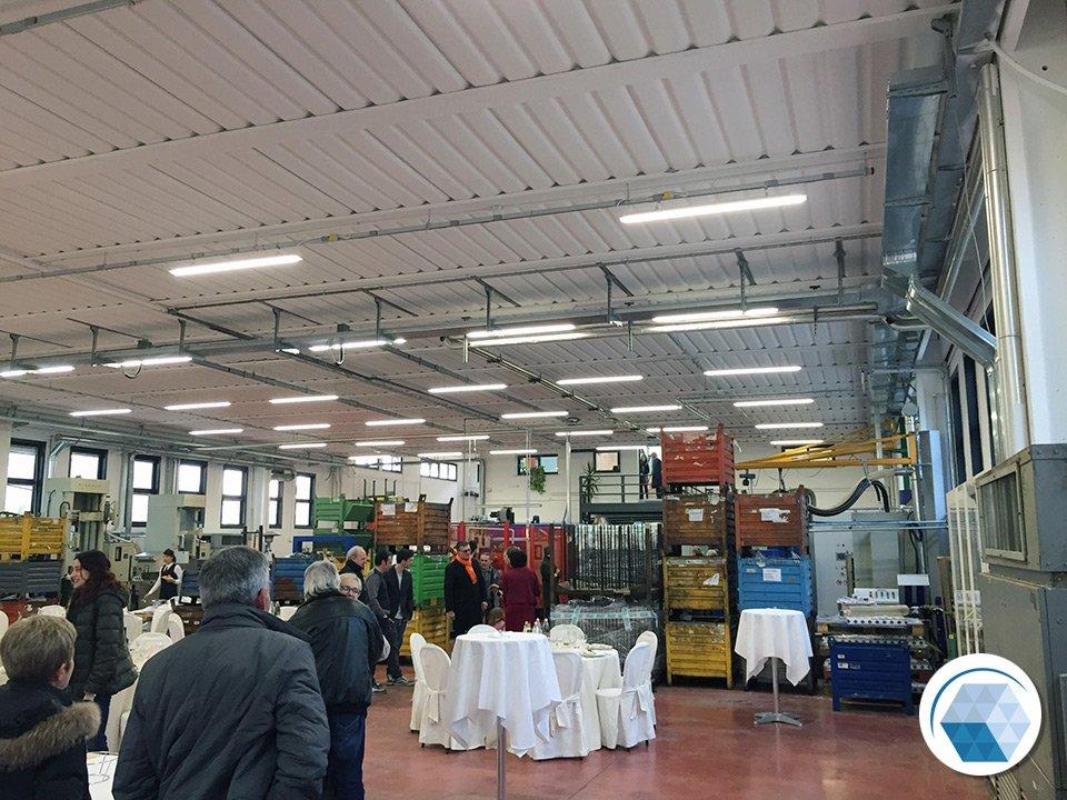 Impianti nuova sede Metaltempra Srl - Forlì