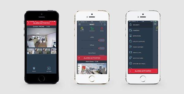 Irisco video app