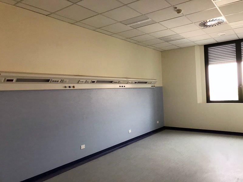vi impianti Reparto Neurologia Ospedale di Ravenna