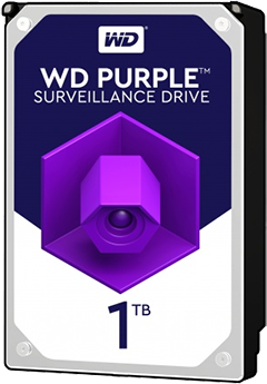 Western Digital HDD int. 1TB WD10PURZ, Purple