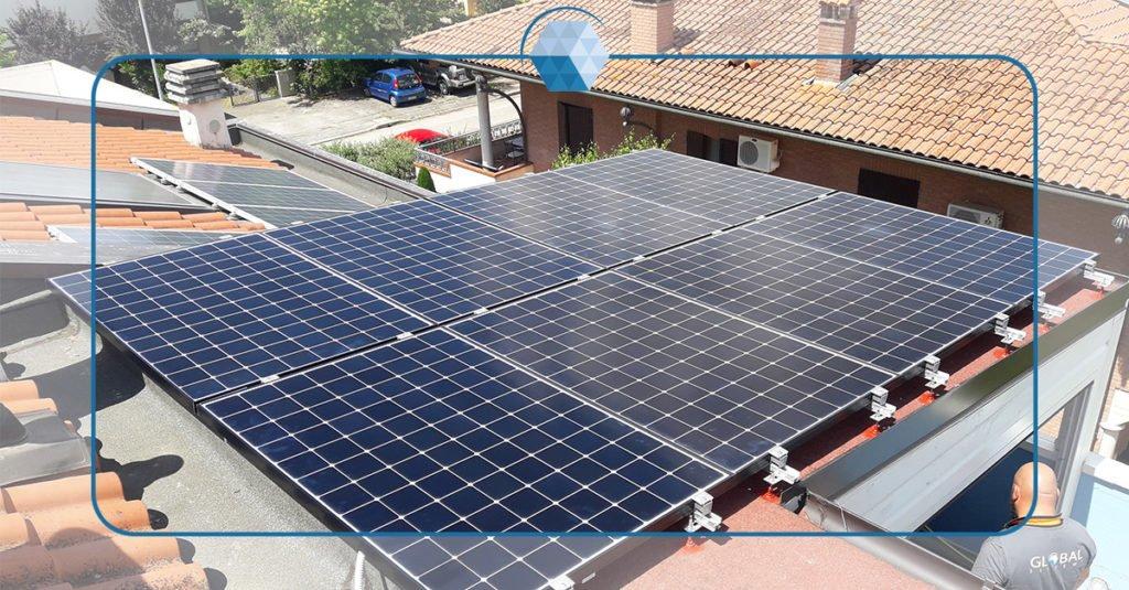 Fotovoltaico SunPower® X-22 e Sistema di accumulo LG in abitazione privata