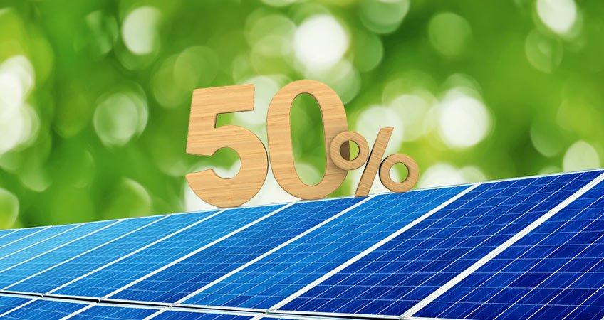 Ecobonus 50%: confermate le detrazioni per fotovoltaico con accumulo