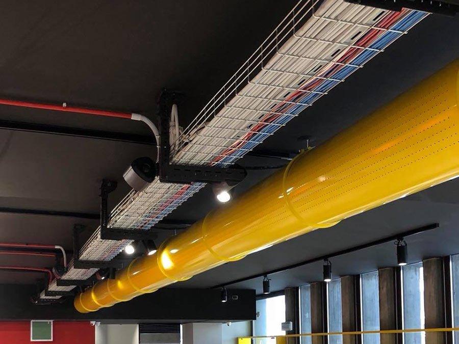 Impianti speciali nuovo store Kazuma a Cesena