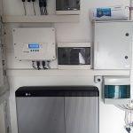 Impianto BenQ con Inverter SolarEdge in abitazione privata