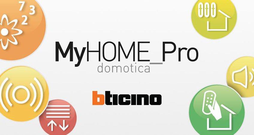 MyHOME_Pro Domotica BTicino