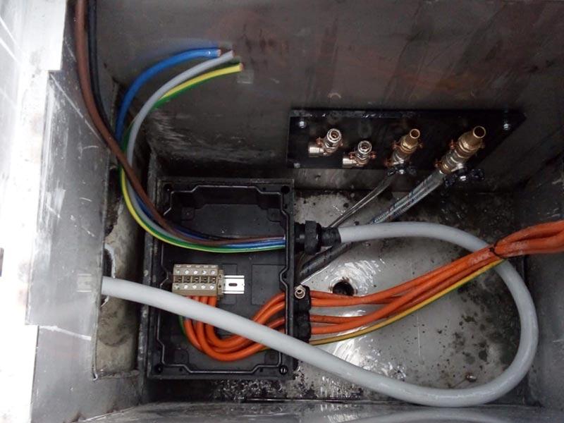 Impianto elettrico in nuovo capannone cantiere San Lorenzo Yatch