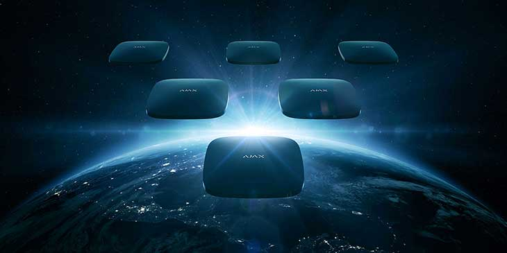 Ajax, sistemi di sicurezza wireless
