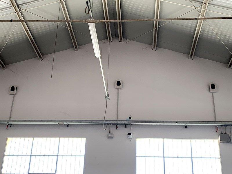 Illuminazione Guantificio DueEsse Forlì