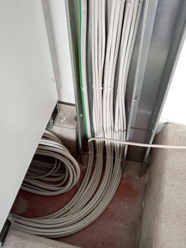 Impianti elettrici, antincendio, antintrusione, videosorveglianza - Fustificio Frassineti